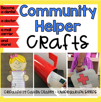 community helpers crafts careers crafts tpt