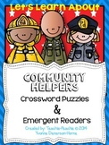 Community Helpers: Word Searches and Emergent Readers