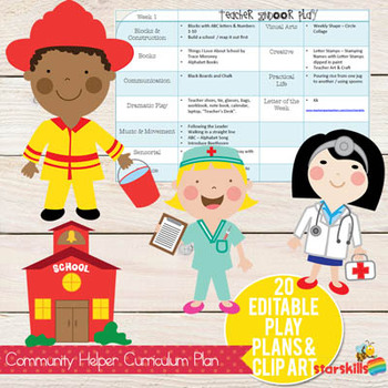 Community Helpers Curriculum Plan