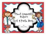 Community Helpers Cut & Paste Book