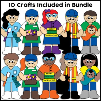 Community Helpers Crafts Bundle 2