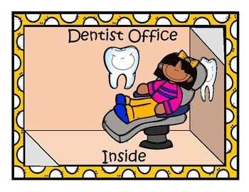 Community Helpers: Dentist Vocab and Activities