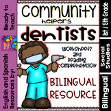Community Helpers - Dentists - Dentistas (Bilingual Set)