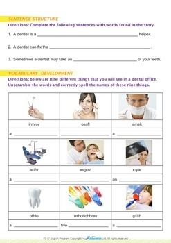 Community Helpers - Dentists - Grade 3