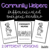 Community Helpers {Differentiated Emergent Readers}