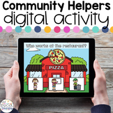Community Helpers - Digital Activity - Distance Learning f
