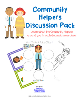 Community Helpers Discussion Pack