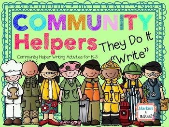 "Community Helpers Do It ""Write""  Writing Pack"