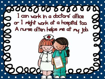 Community Helpers - Doctors Emergent Reader