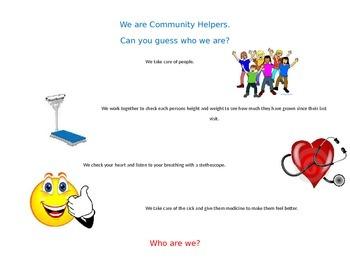 Community Helpers Doctors Nurses