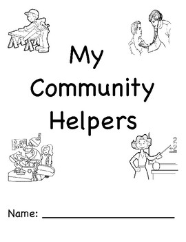 Community Helpers Dot Book