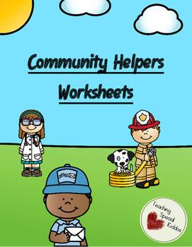 Community Helpers Early Learner Worksheets