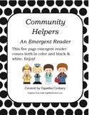 Community Helpers Early Reader