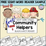 Sight Word Leveled Readers, Activities: Community Helpers