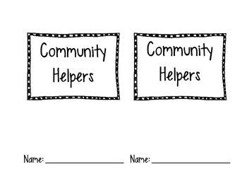 Community Helpers Easy Reader