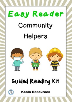 Community Helpers Easy Reader Guided Reading Kit