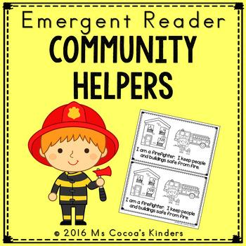 Community Helpers - Emergent Reader