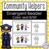 Community Helpers Emergent Reader