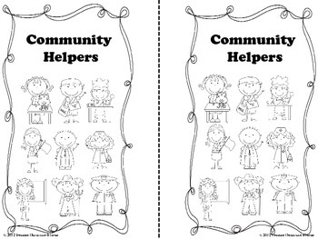 Community Helpers Emergent  Reader Book P-1st Grade
