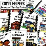 Community Helpers Emergent Reader Books
