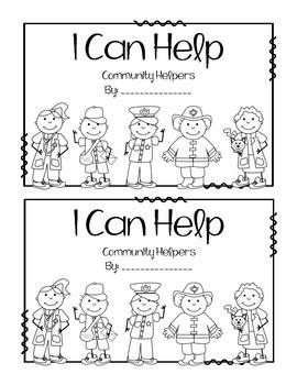 Community Helpers - Emergent Reader - Differentiated