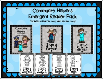 Community Helpers Emergent Reader Pack