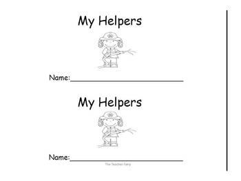 Community Helpers- Emergent Readers