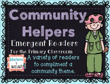 Community Helpers Emergent Readers