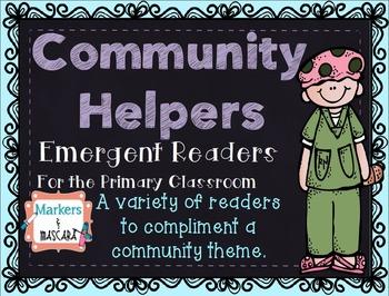 Community Helpers Emergent Readers