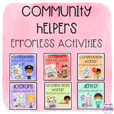 Community Helpers Errorless Activity Set GROWING Bundle