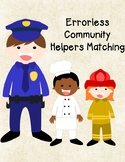 Community Helpers Errorless Matching