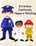 Community Helpers Errorless Matching