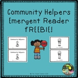Community Helpers FREE Emergent Reader