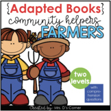 Community Helpers Farmer Adapted Books [ Level 1 and Level 2]