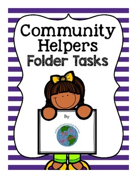 Community Helpers File Folder Activities