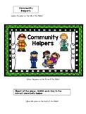 Community Helpers File Folder Game