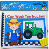 Community Helpers Fine Motor Adapted Book: Farmer Edition
