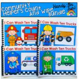 Community Helpers Fine Motor Adapted Books Bundle