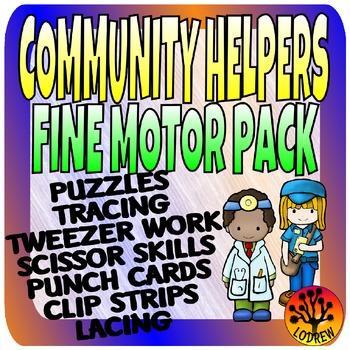 Community Helpers Centers Activities Fine Motor Centers Pr
