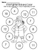 Community Helpers- Fire Fighter Roll and Cover