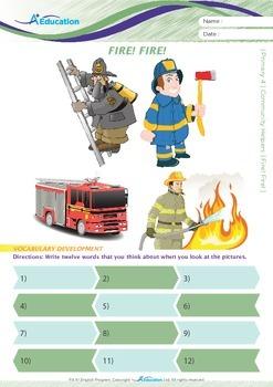 Community Helpers - Fire! Fire! - Grade 4