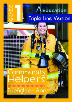 Community Helpers - Firefighter Ann (with 'Triple-Track Wr