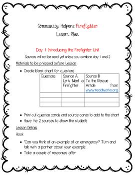 Community Helpers: Firefighters