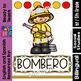 Community Helpers - Firefighters - Bomberos (Bilingual Set)