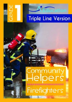Community Helpers - Firefighters (with 'Triple-Track Writi