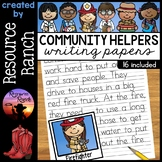 Community Helpers Writing Papers