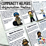 Community Helpers Roles Editable Flashcards