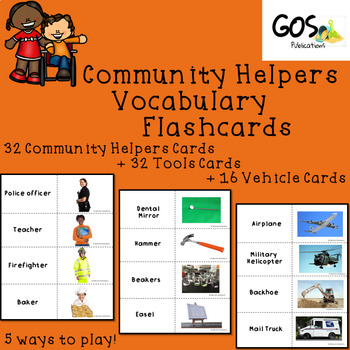 Community Helpers - Flashcards