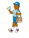 Community Helpers Flashcards - Letter Size