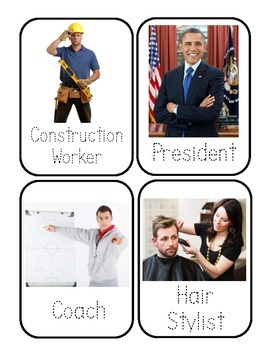 Community Helpers Flashcards *Real Photos!